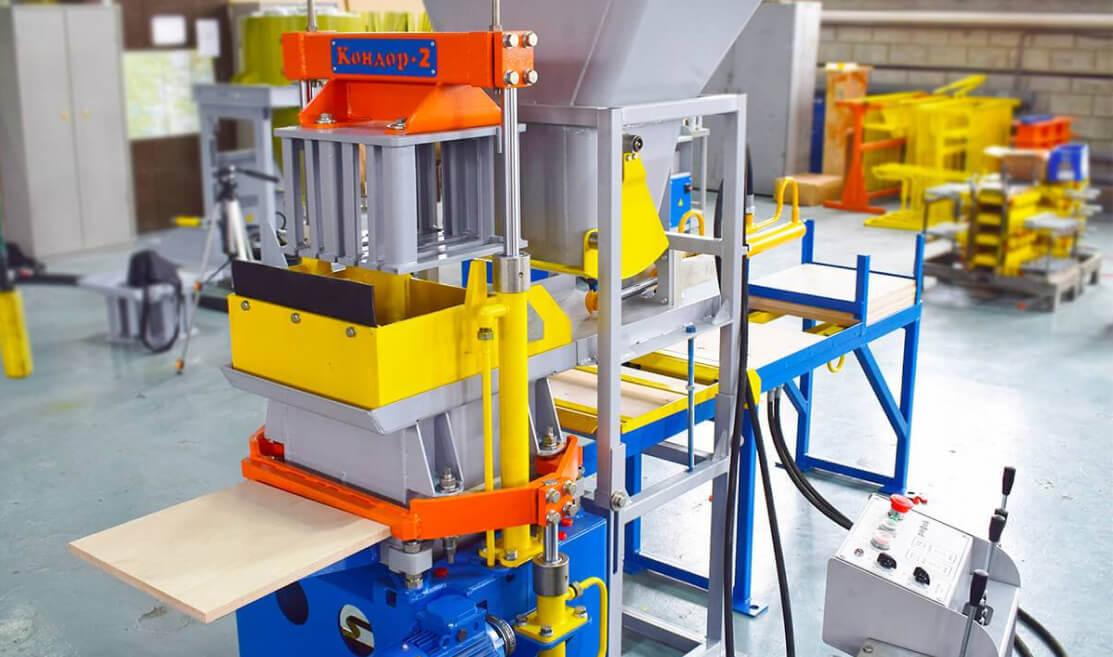 Установка для изготовления строительных изделий «Рифей-Кондор-40/220» – Завод «Стройтехника»