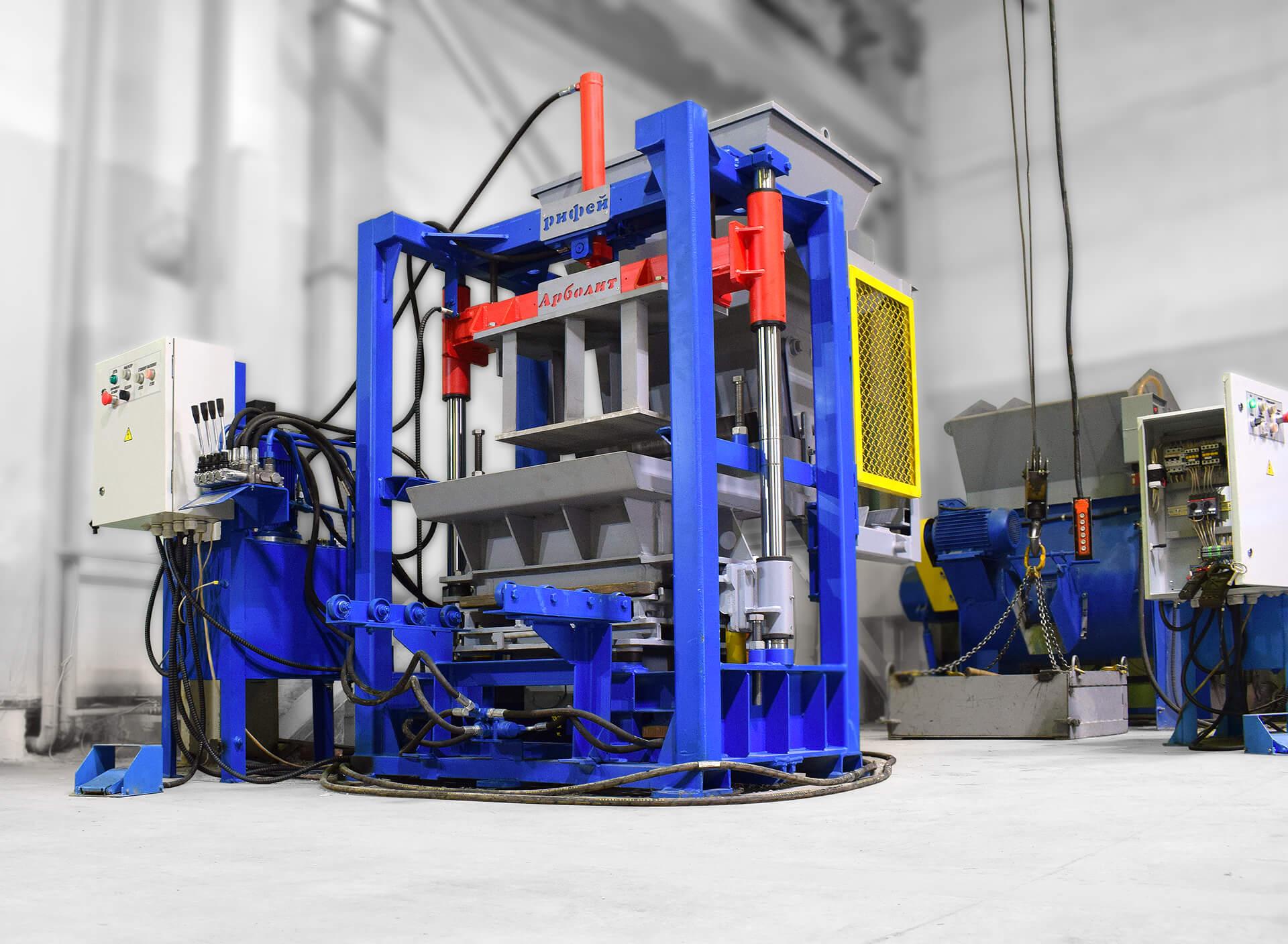 Вибропресс «Рифей-Арболит-С», купить в Златоусте, выгодная цена | Завод Стройтехника – Завод «Стройтехника»
