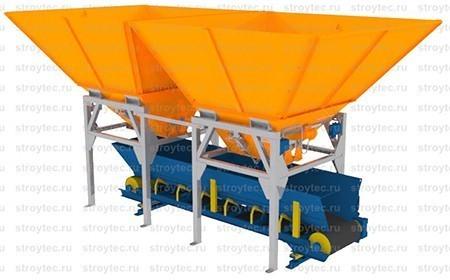 Дозатор заполнителя ДЗ-24. 3D модель